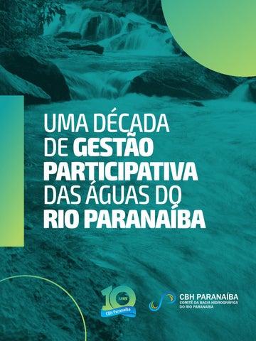 Uma década de gestão participativa das águas do rio Paranaíba