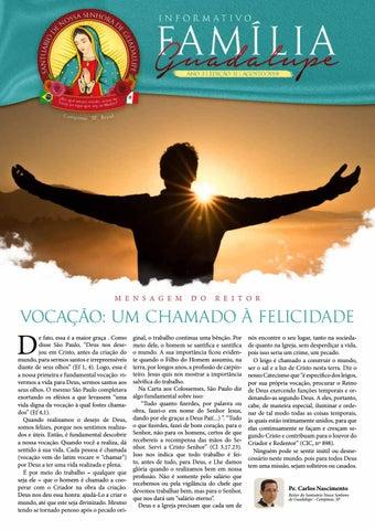 [Informativo Família Guadalupe – 31ª Edição]