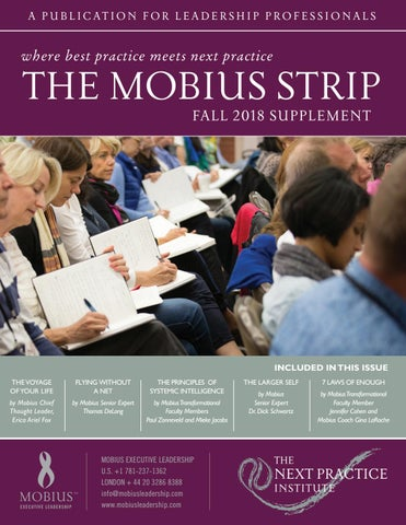 Fall 2018 Mobius Strip Supplement