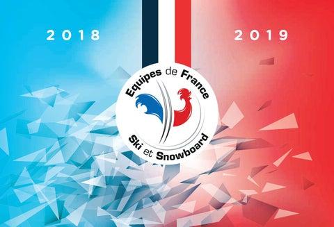 Plaquette des Equipes de Ski et de Snowboard 2018-2019
