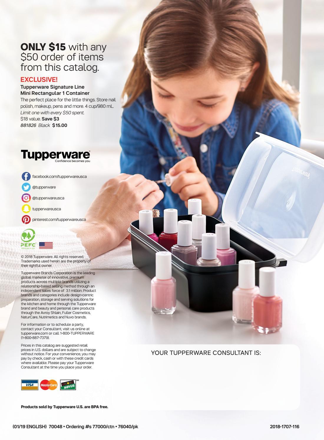Tupperware Winter/Spring Full Catalog 2019