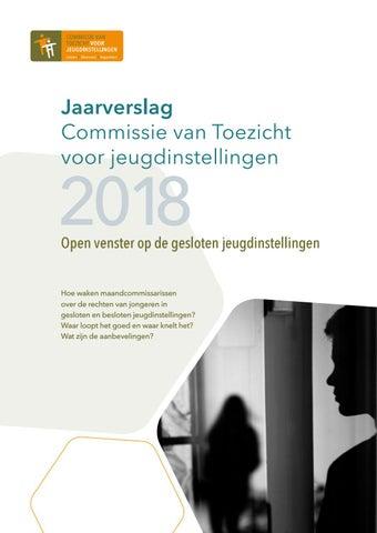 Jaarverslag Commissie van Toezicht voor jeugdinstellingen 2018