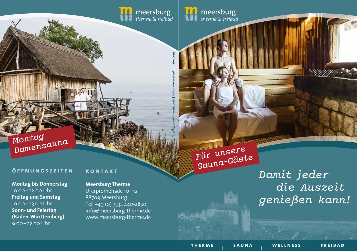 Meersburg Therme - Saunafibel - Meersburg-Therme