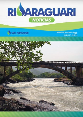 Informativo Online - Rio Araguari Notícias -- 87ª Edição