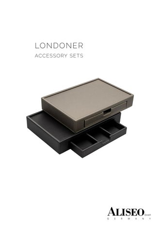 ALISEO - Londoner Accessory Sets
