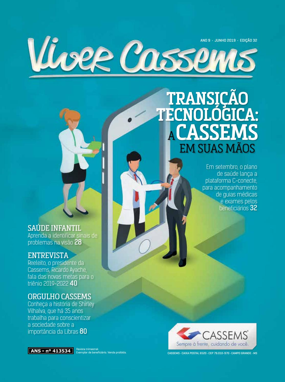 Clique para abrir - Veículo dirigido e customizado pela comunicação interna da Cassems. Diagramação e conteúdo: Diniz Ação e Marketing