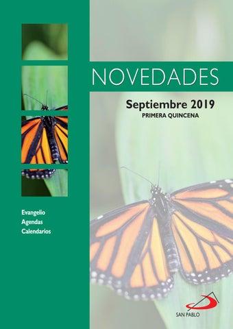 Novedades 1ª quincena de septiembre