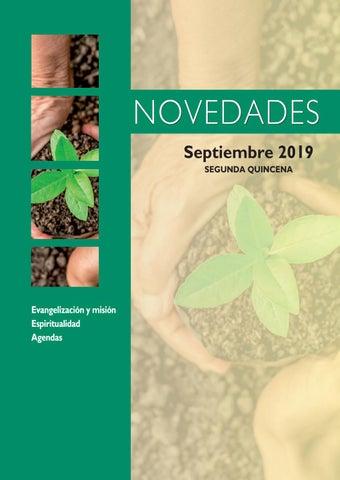 Novedades SAN PABLO 2ª quincena septiembre 2019