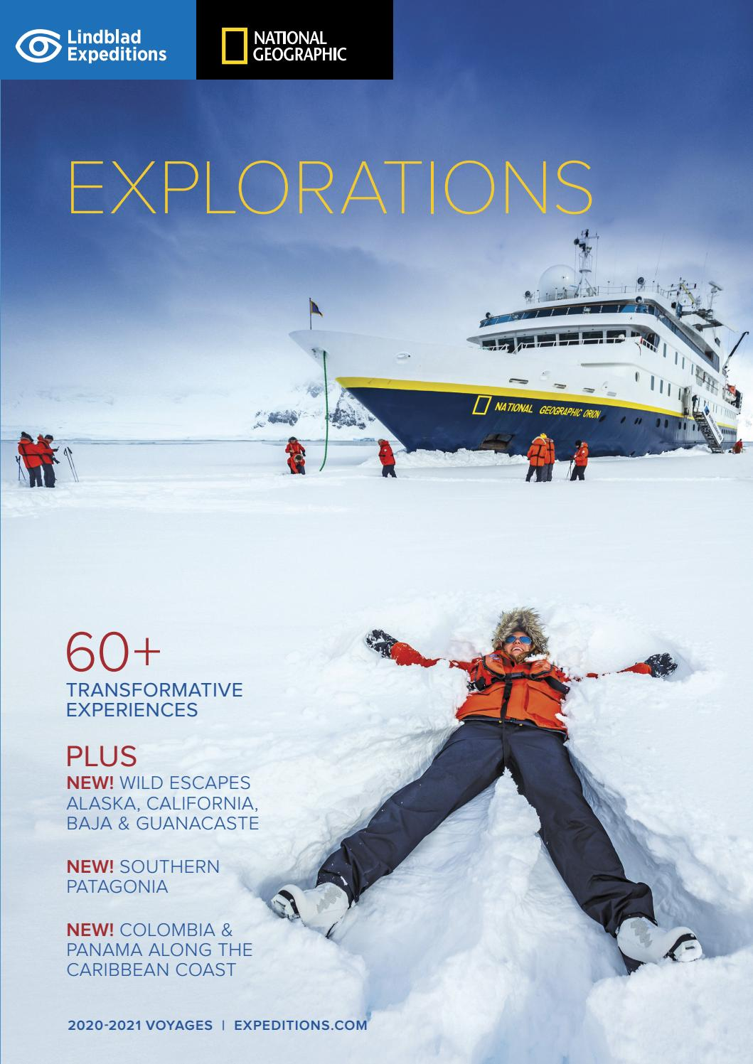 Lindblad Expeditions Explorations