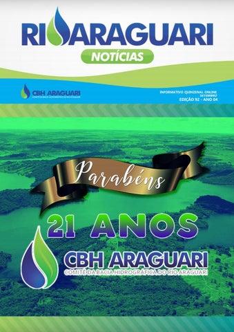 Informativo Online - Rio Araguari Notícias -- 92ª Edição