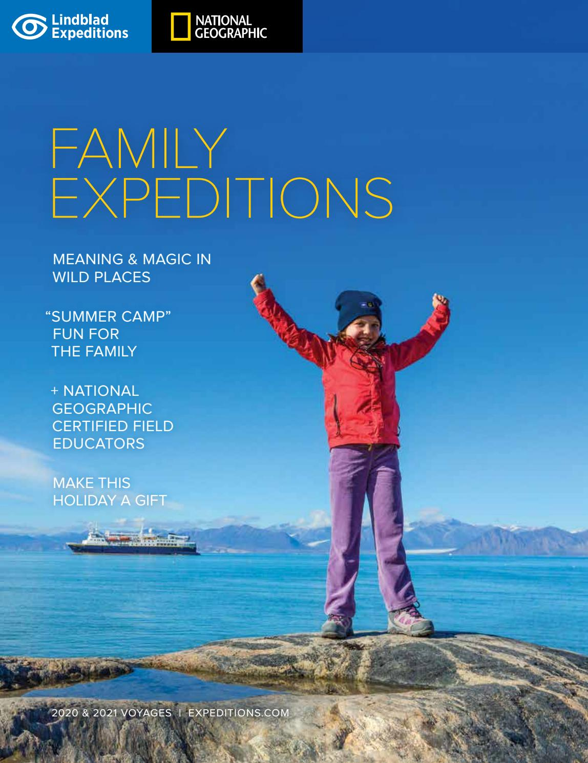 Lindblad Expeditions: Family Adventures