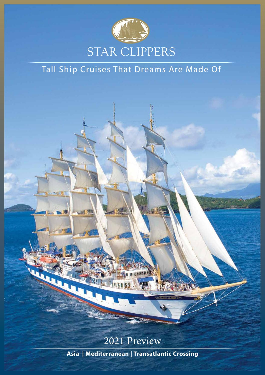 Star Clippers 2021 Preview Brochure