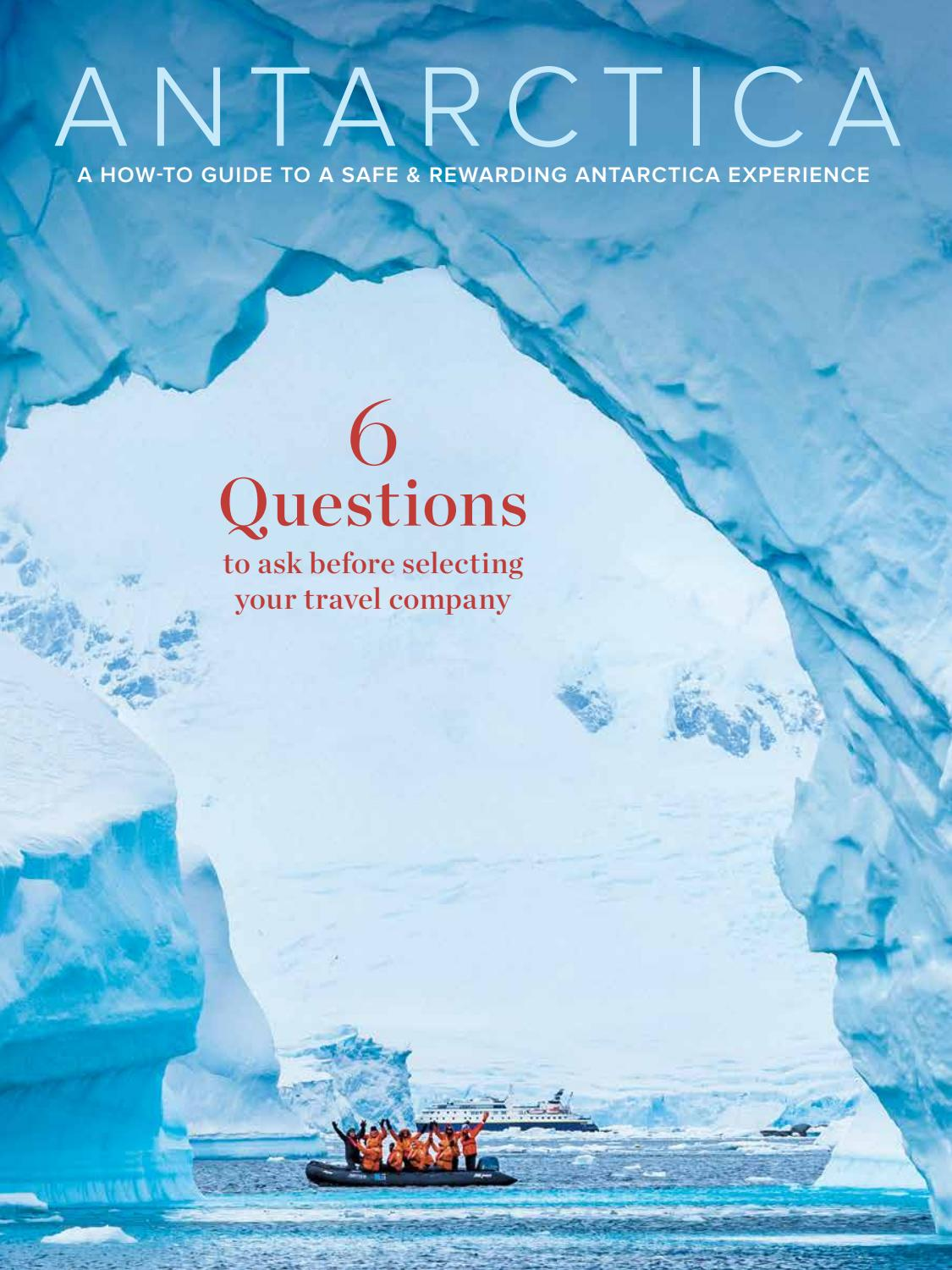 Lindblad Expeditions Antarctica - A How-to Guide