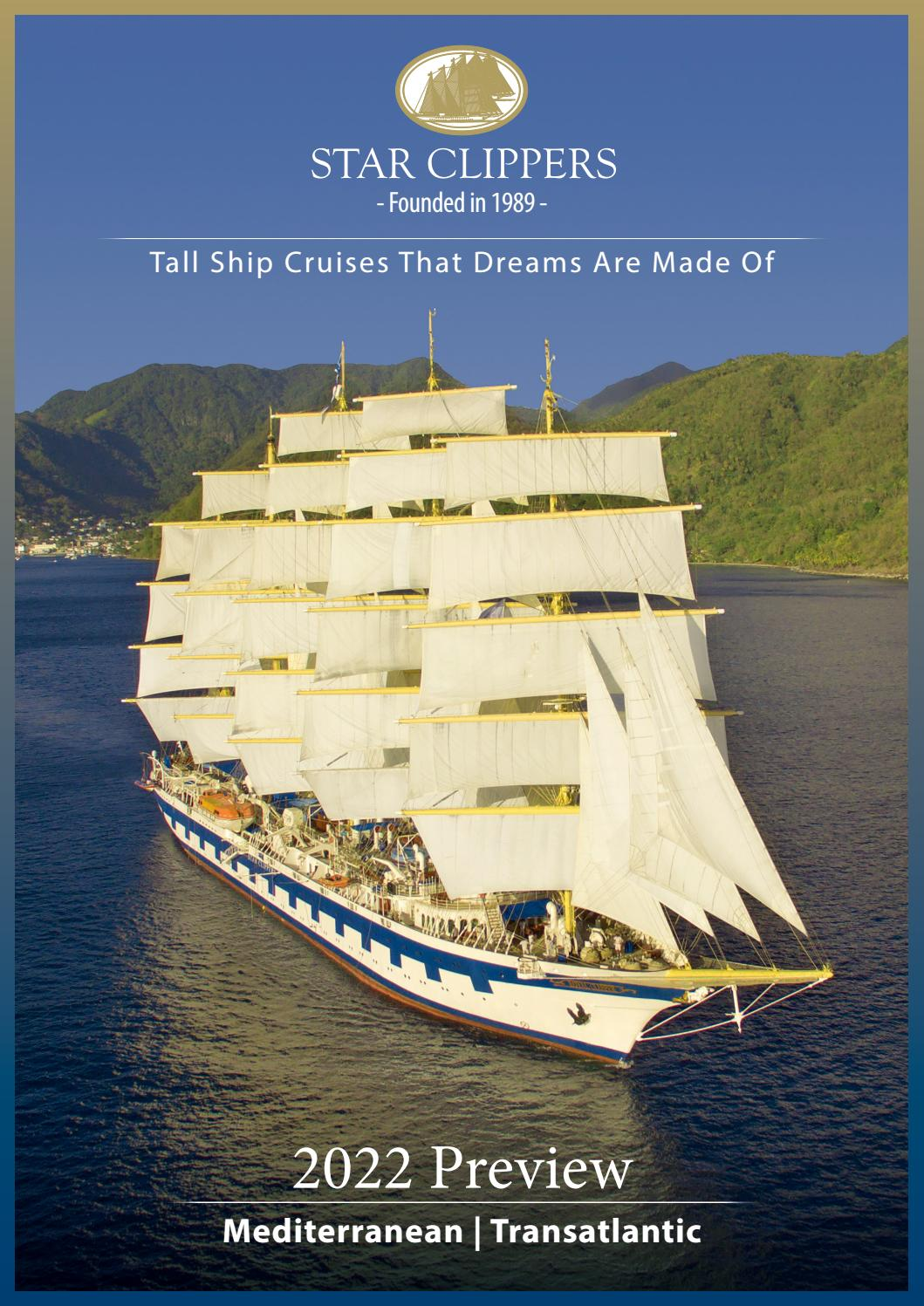 Star Clippers 2022 Mediterranean Preview
