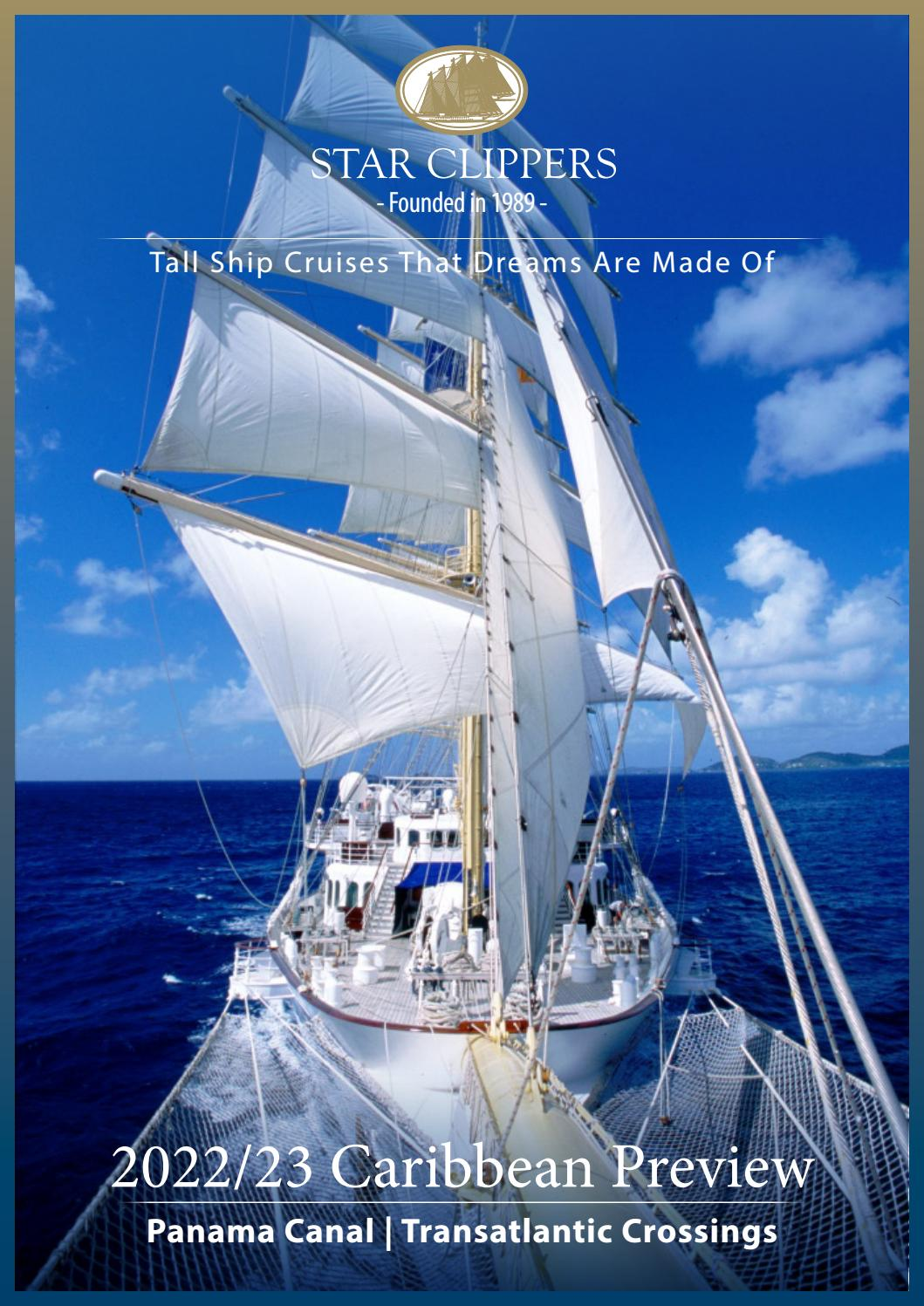 Star Clippers 2022/23 Caribbean Preview