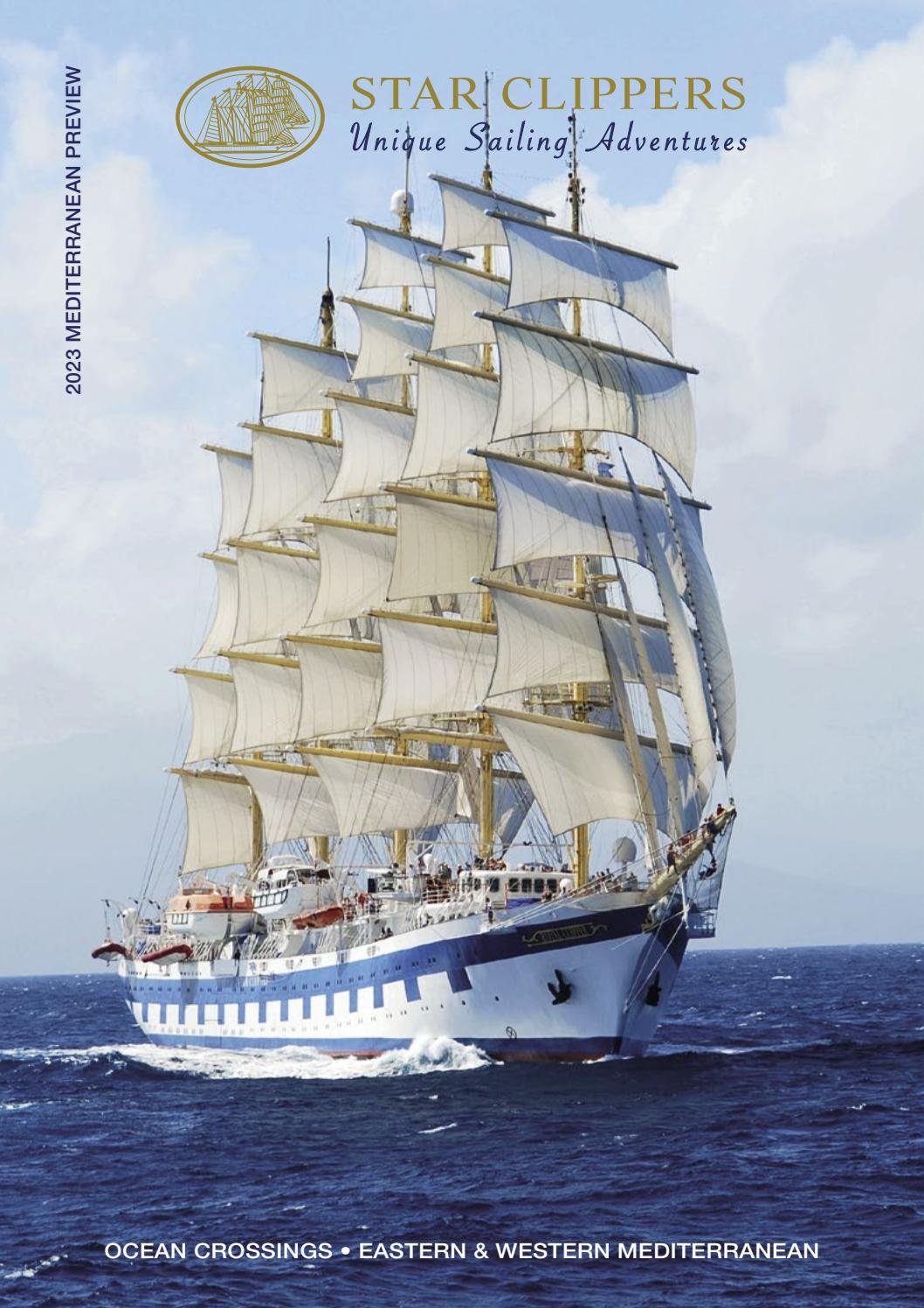 Star Clippers 2023 Mediterranean Preview