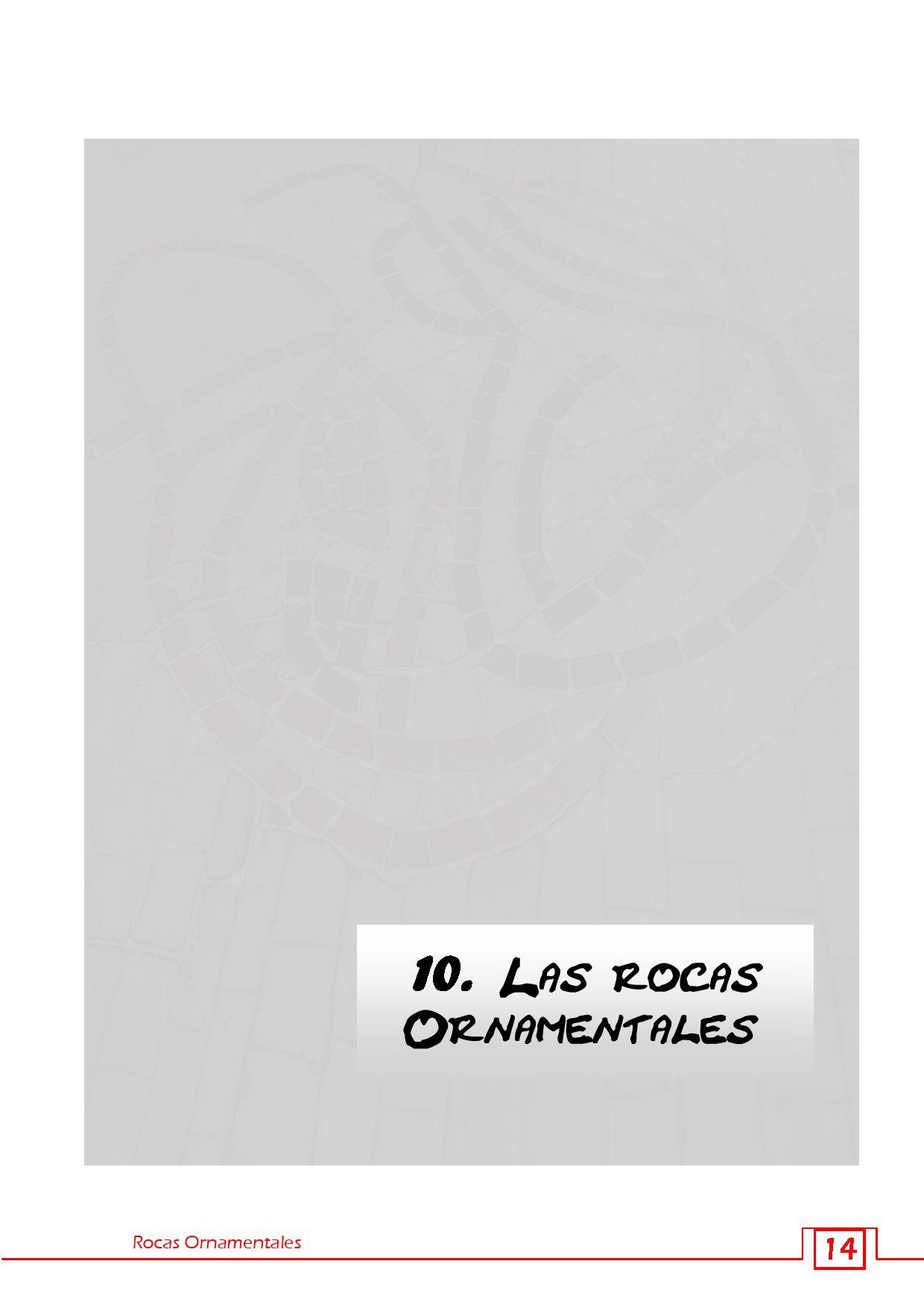 Rocas ornamentales by esther fernandez issuu for Formas ornamentales