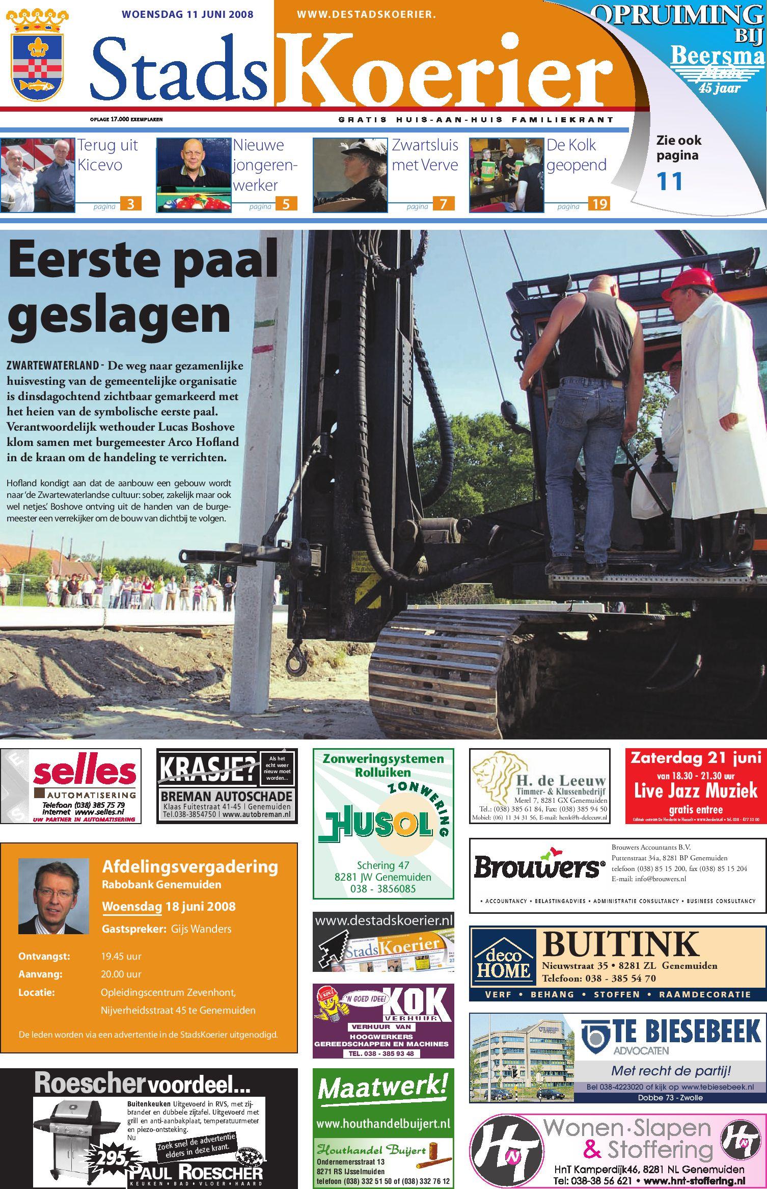 Stadskoerier week 24 by brugmedia b.v.   issuu