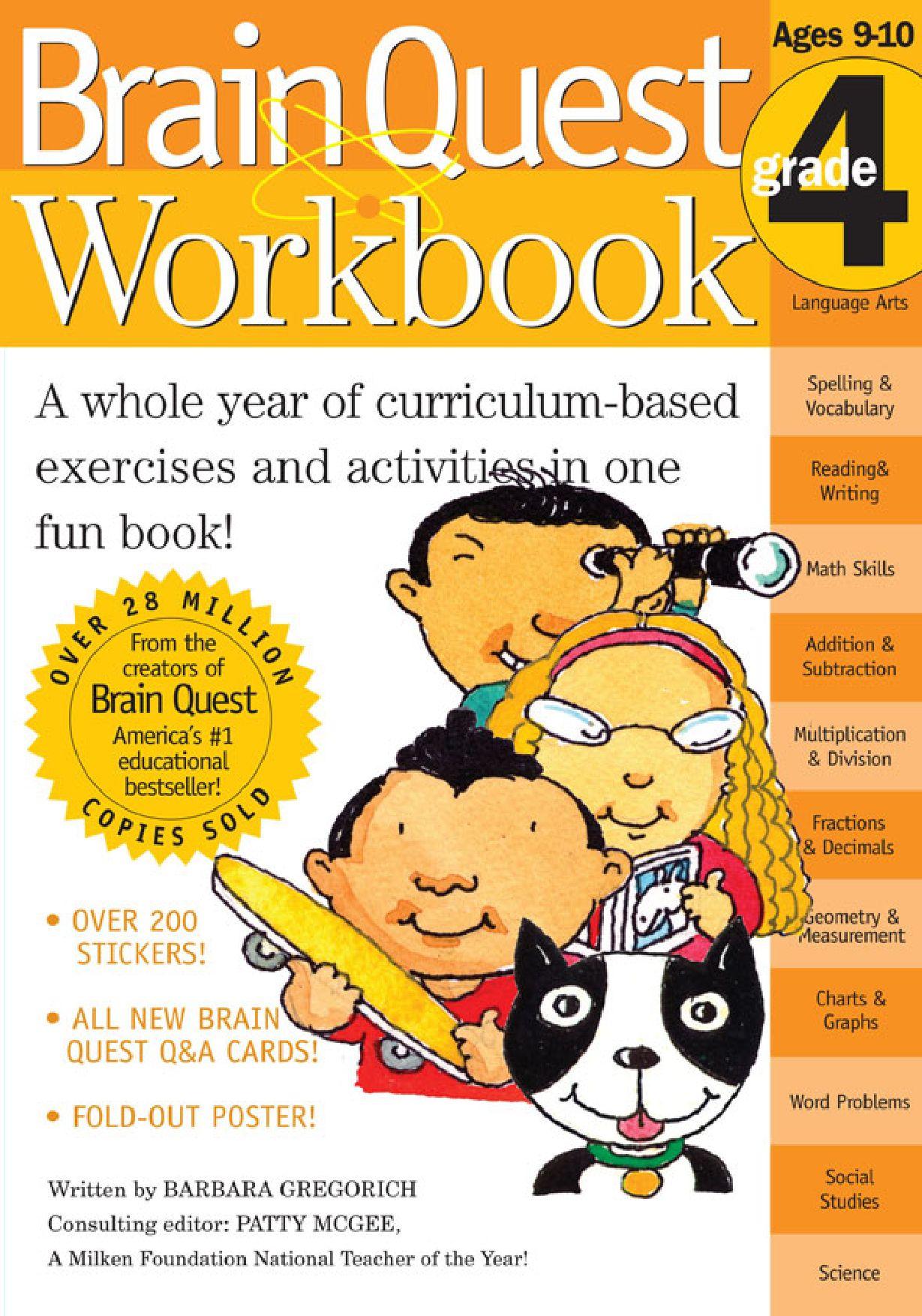 Brain Quest Workbook, Grade 2 by Liane Onish