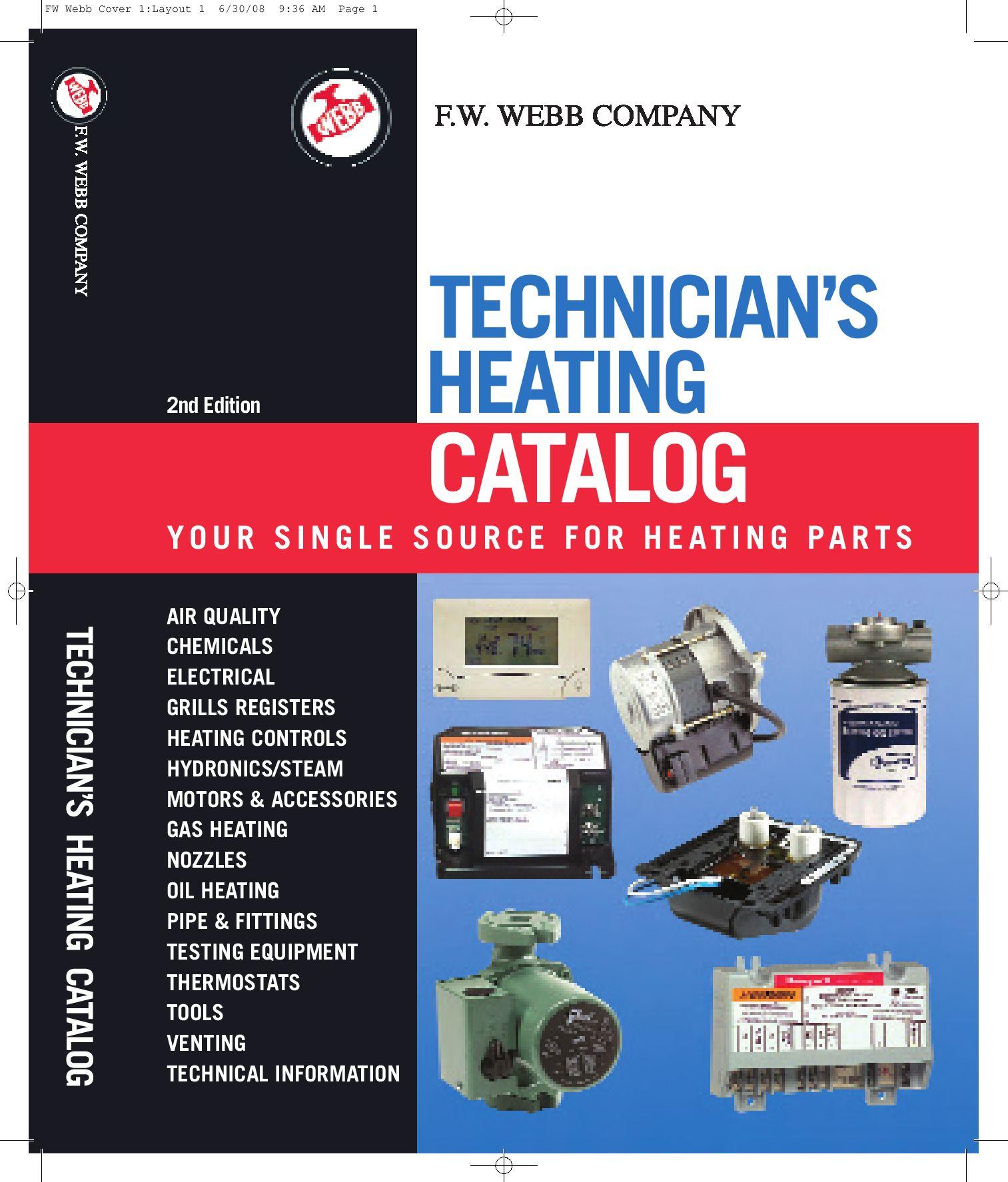 Technician S Heating Catalog By F W Webb Company Issuu