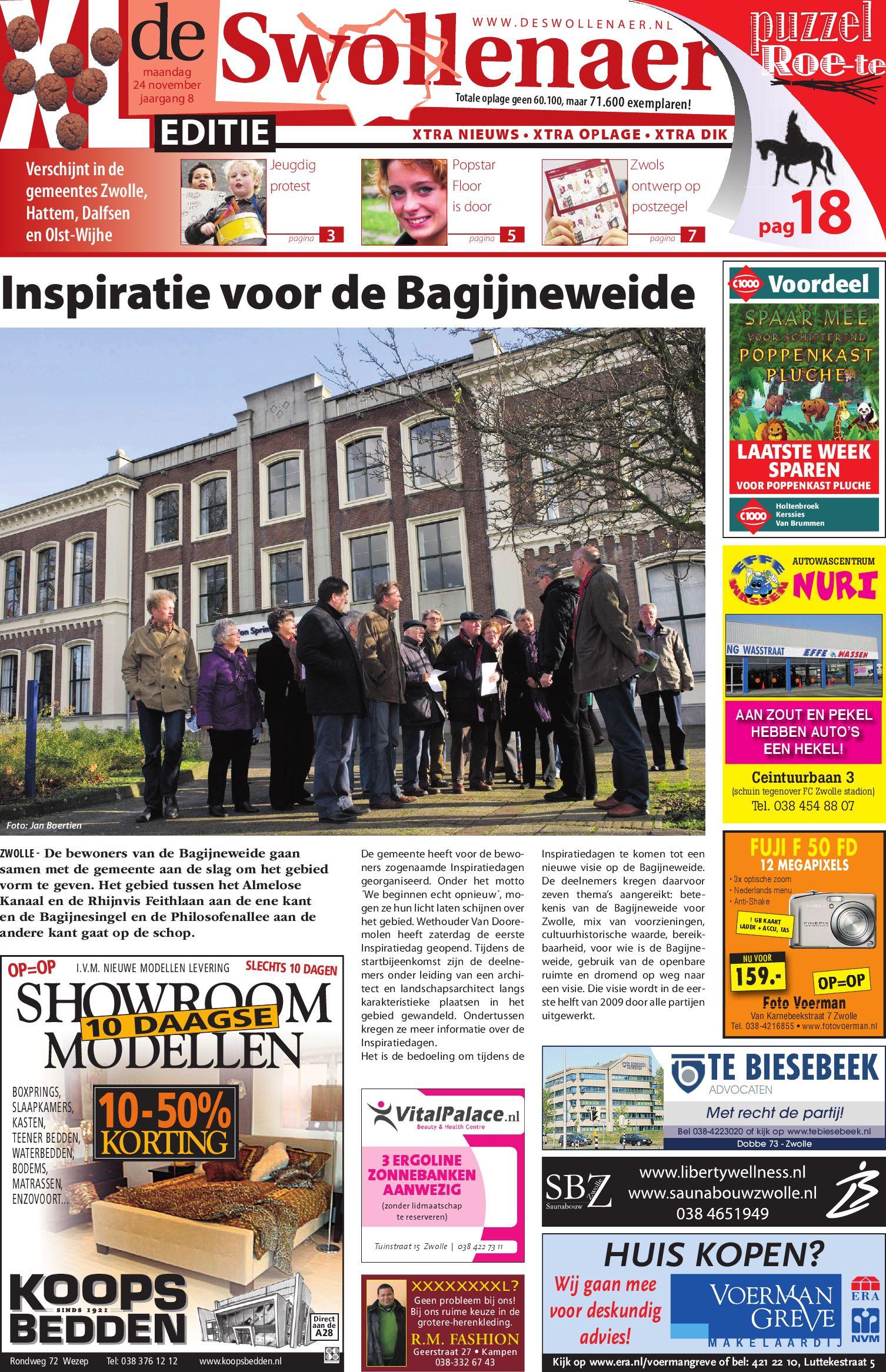 Swollenaer week 10 by brugmedia b.v.   issuu