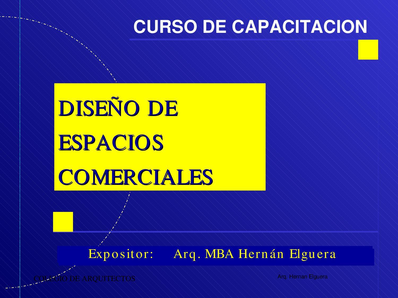 Dise o de espacios comerciales 07 by gonzalo chong issuu - Diseno espacios comerciales ...