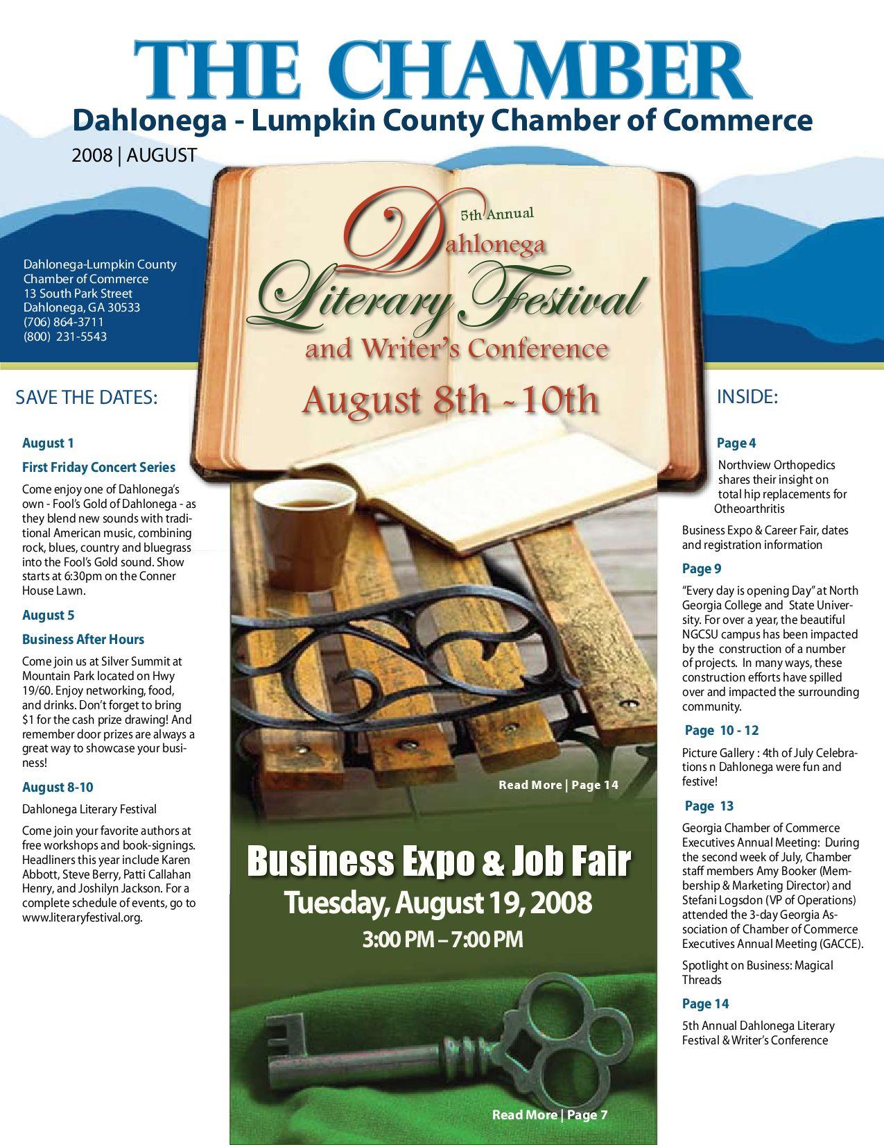 The chamber newsletter august 2008 by dahlonega lumpkin - Garden state orthopedics fair lawn ...