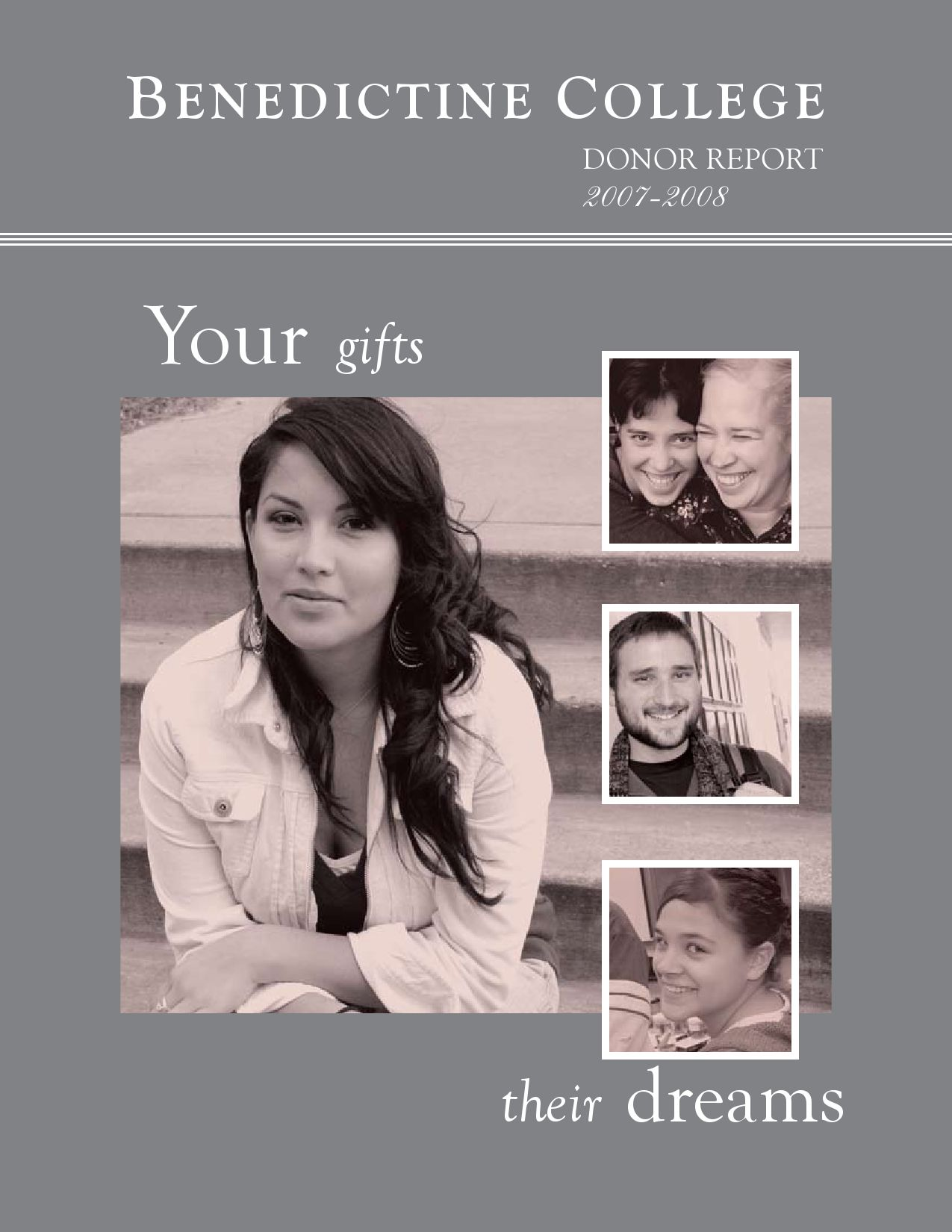 honor roll of donors by holy family university issuu benedictine college donor report