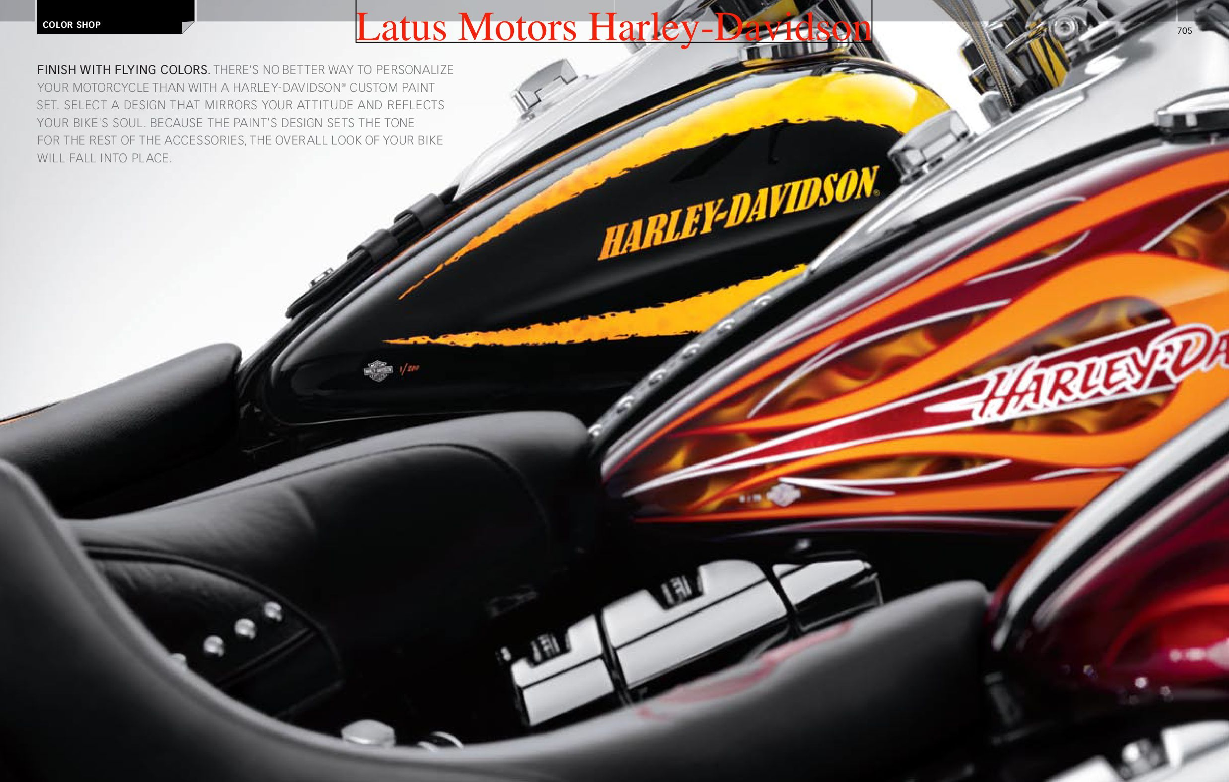 Harley Davidson Portland >> Harley-Davidson Color Shop Catalog by Harley-Davidson of ...