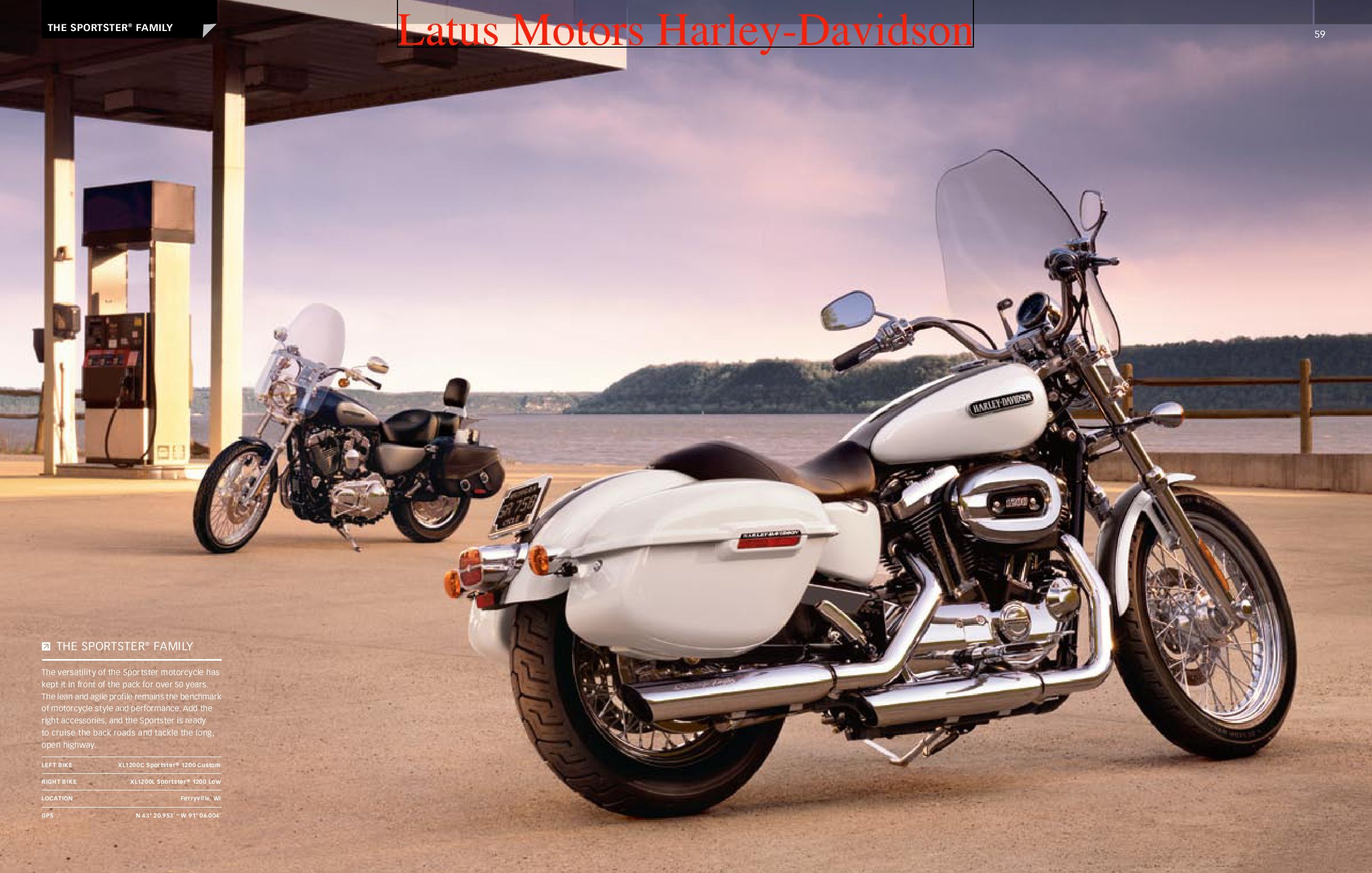 Harley-Davidson Sportster® Parts and Accessories Catalog ...