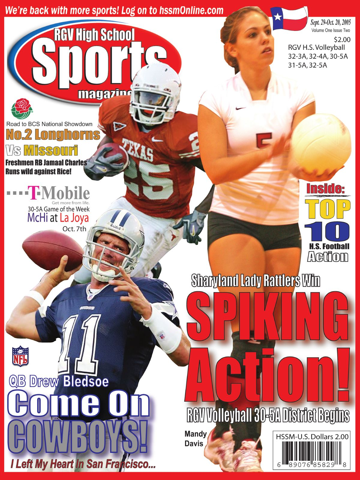 High School Sports Magazine Cover