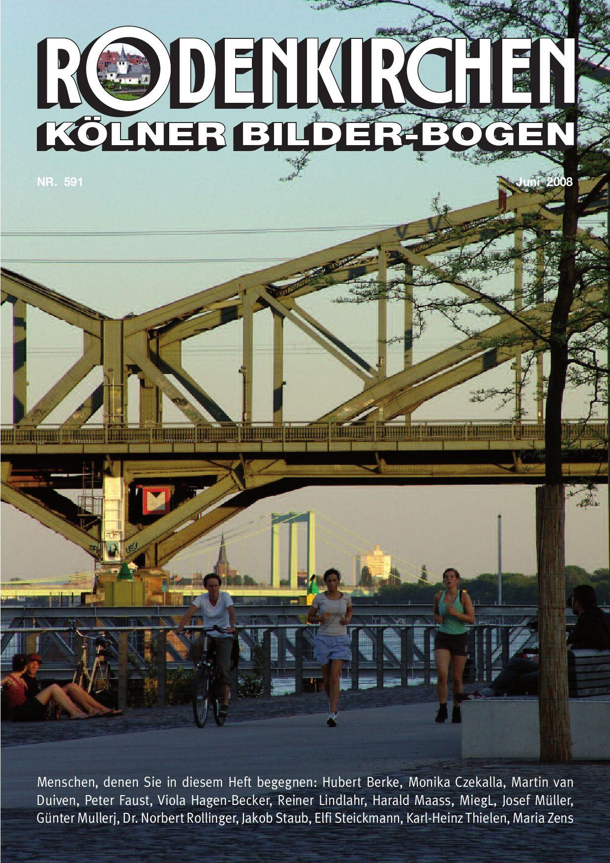 Heft Nr. 597 Kölner Bilderbogen Dezember 2008 by Peter Fells - issuu