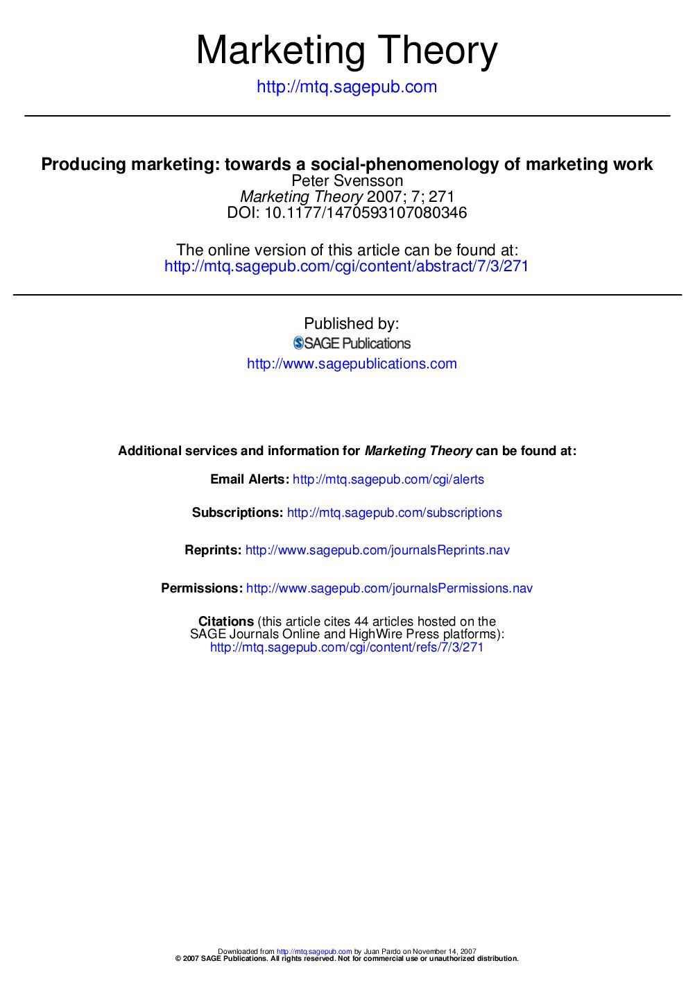 marketing theories profile for mkt 711 This course exposes students to various elements of the marketing mix  it  uncovers the application of basic marketing concepts and  a specific course  description will be published online in the course schedule for the semester the  course is offered  mkt711 marketing management for executives.