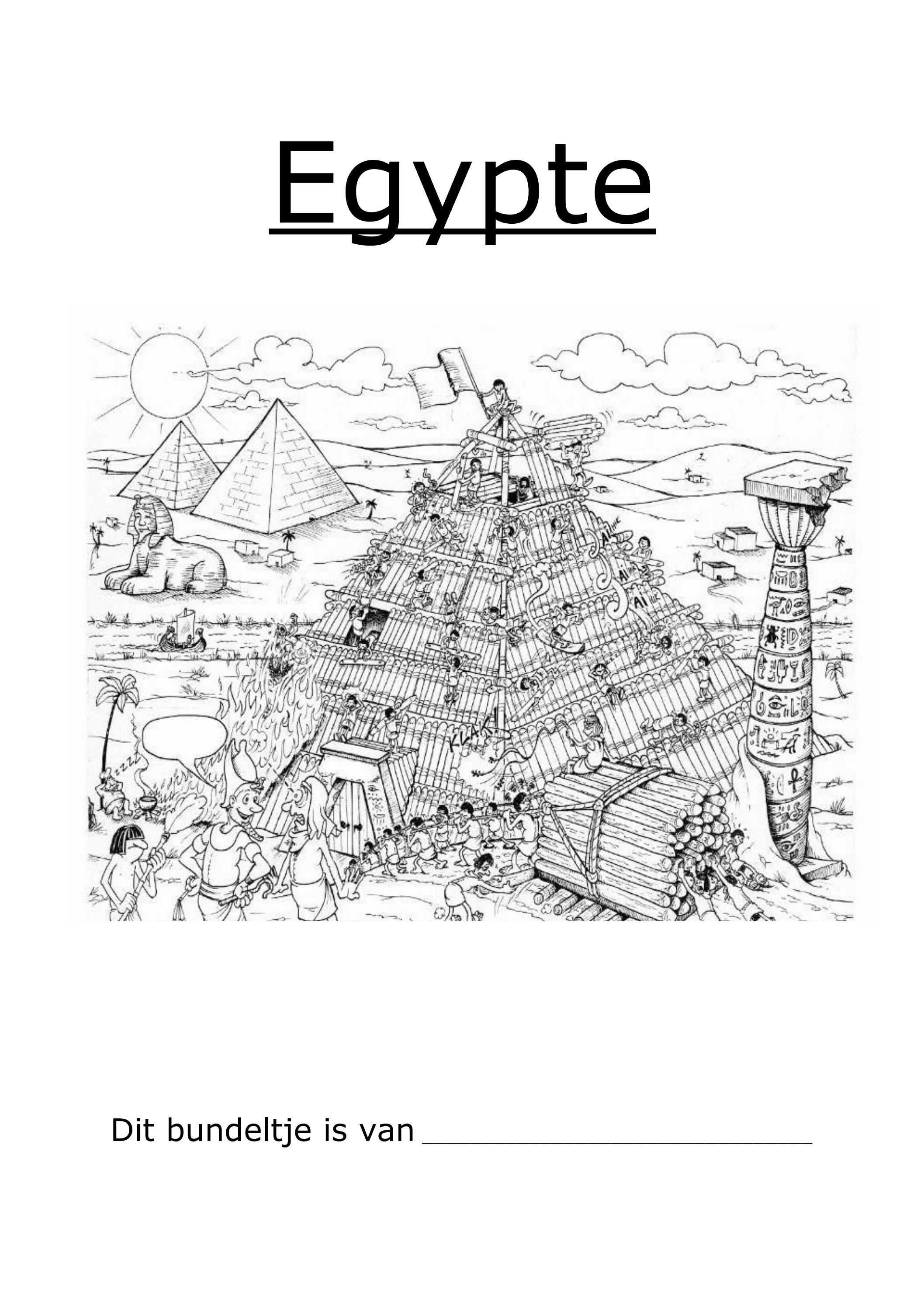werkbundel egypte by evelien laureys issuu