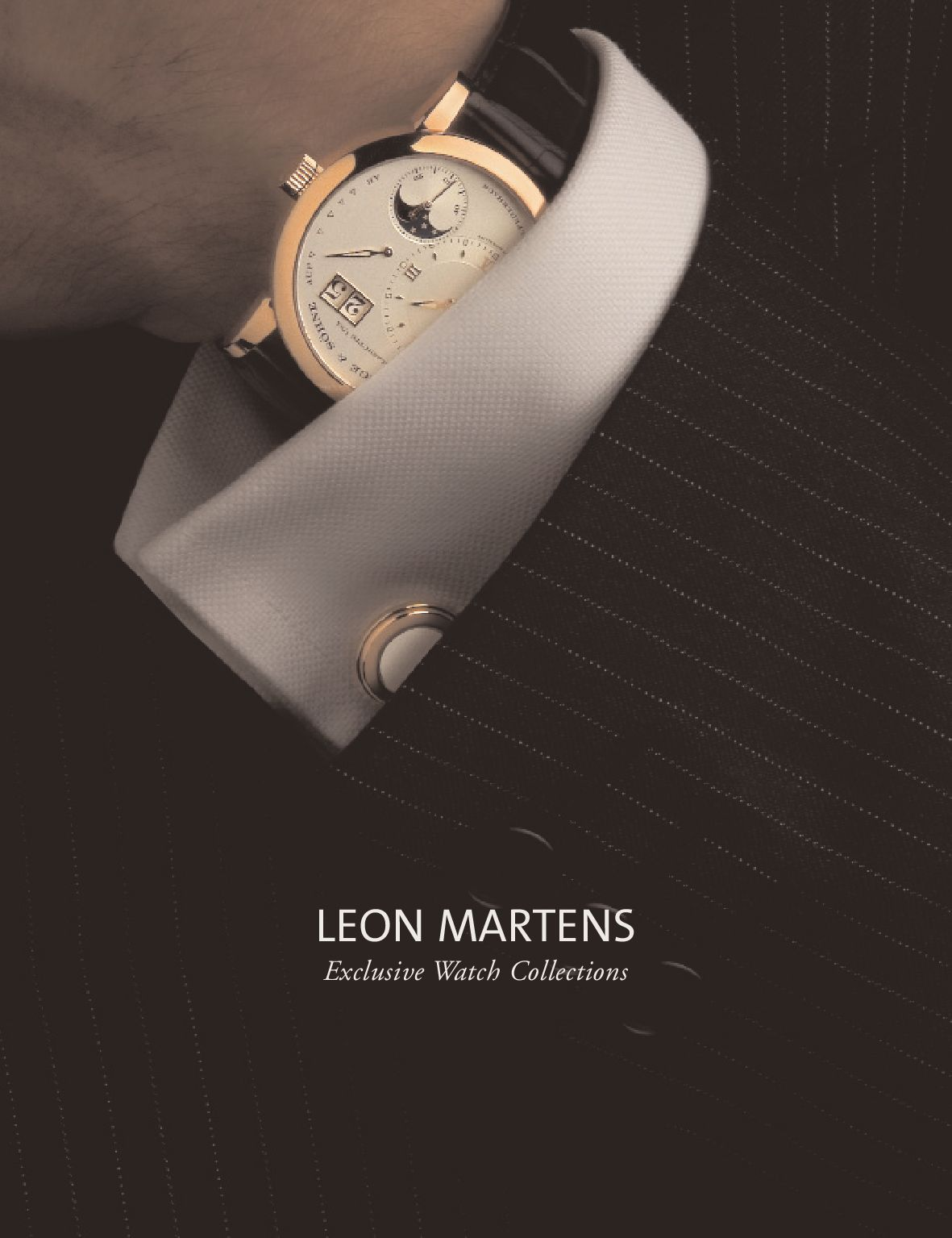 Leon martens timeless watches 2014 by Leon Martens - issuu