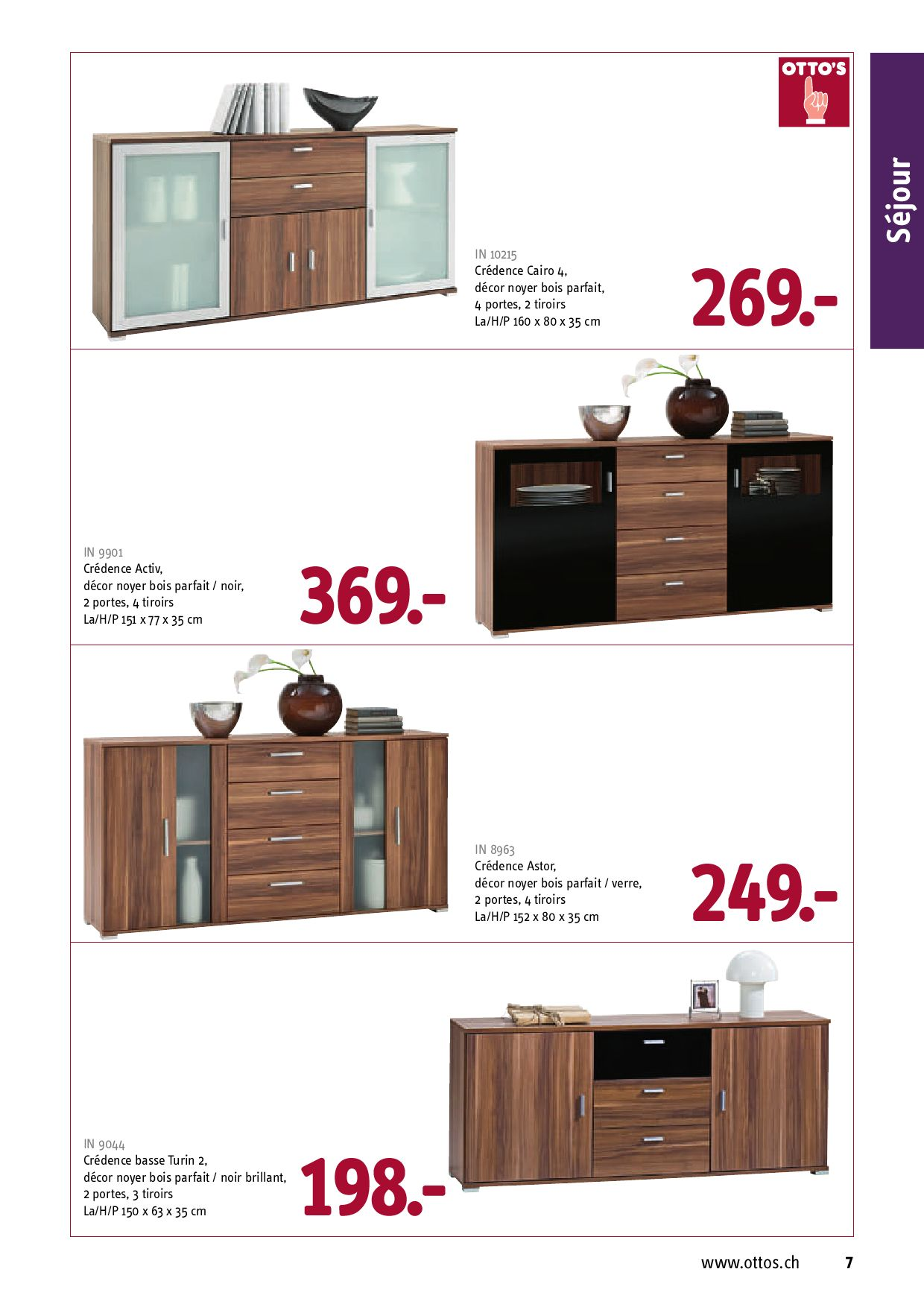 otto 39 s catalogue de meubles 09 by ottos ag switzerland page 11 issuu. Black Bedroom Furniture Sets. Home Design Ideas