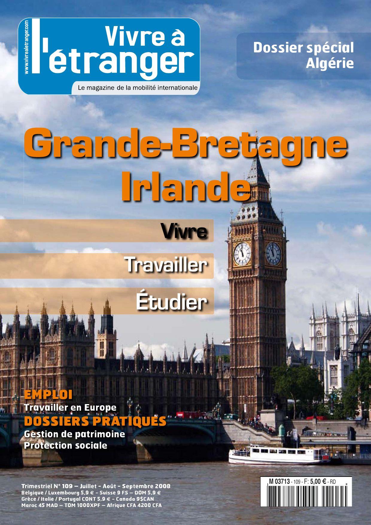 Grande bretagne irlande vivre travailler tudier by for Chambre de commerce francaise en grande bretagne