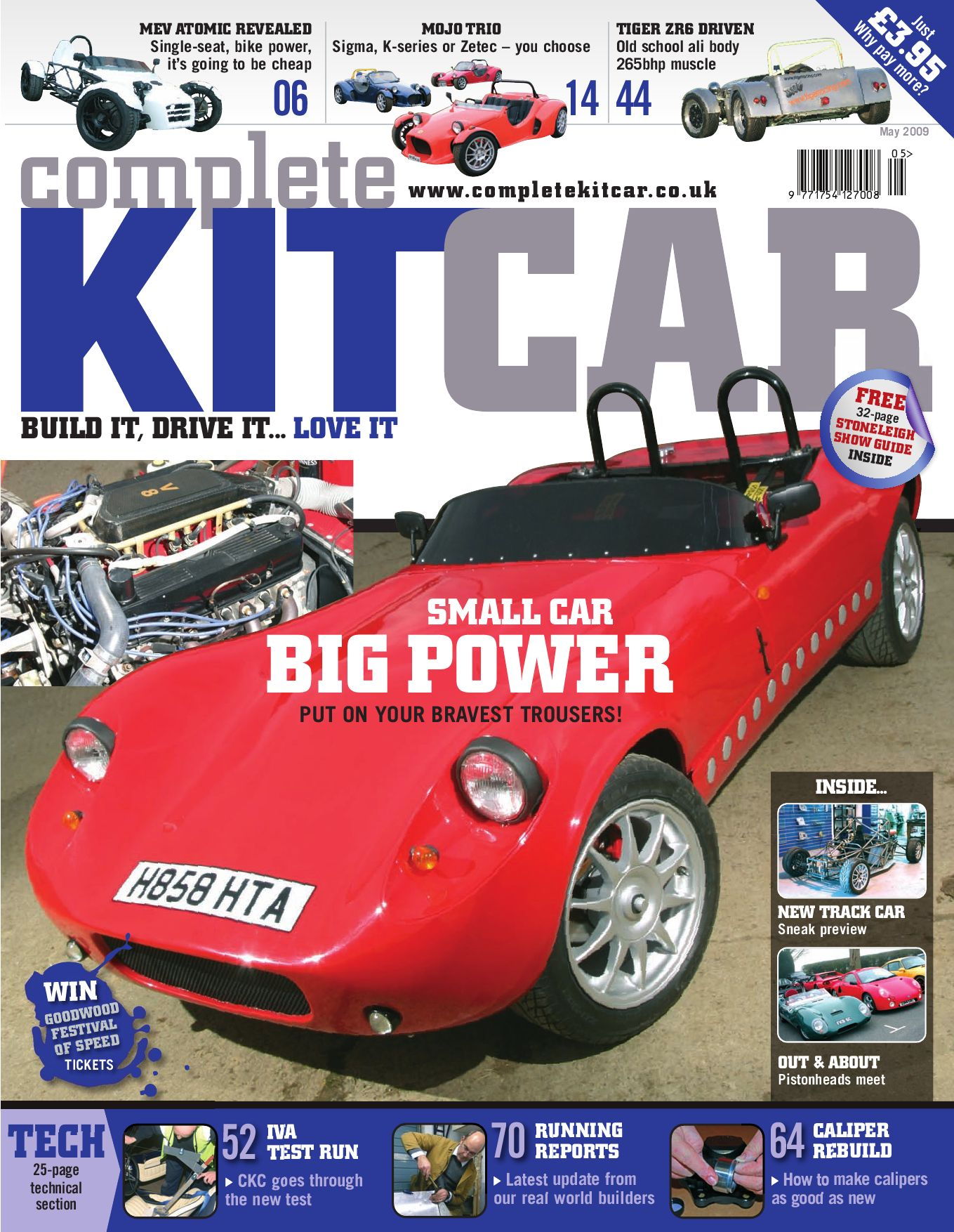 Complete Kit Car Magazine May 2009 Advertising Preview By