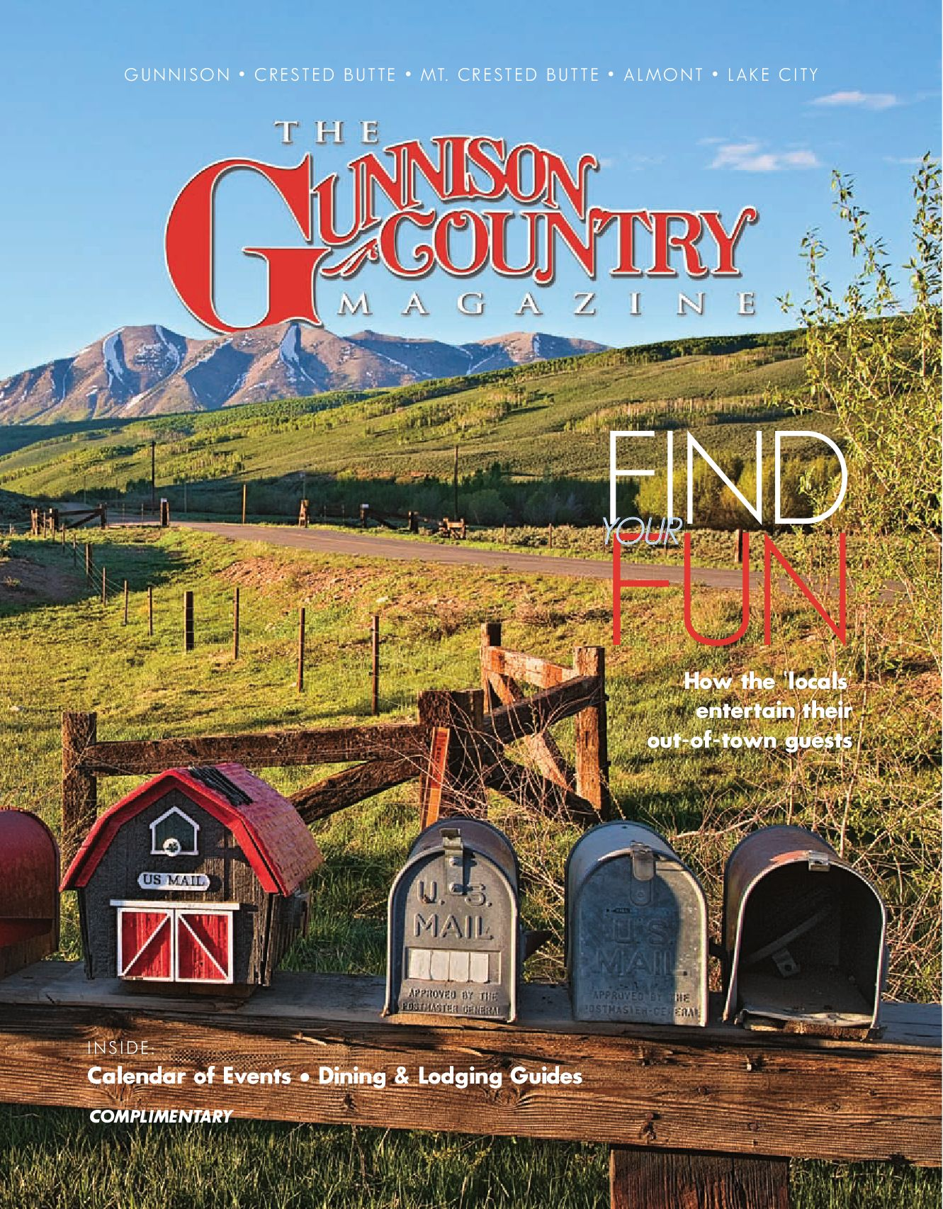 Gunnison Country Magazine 2009 By Stephen J Pierotti Issuu