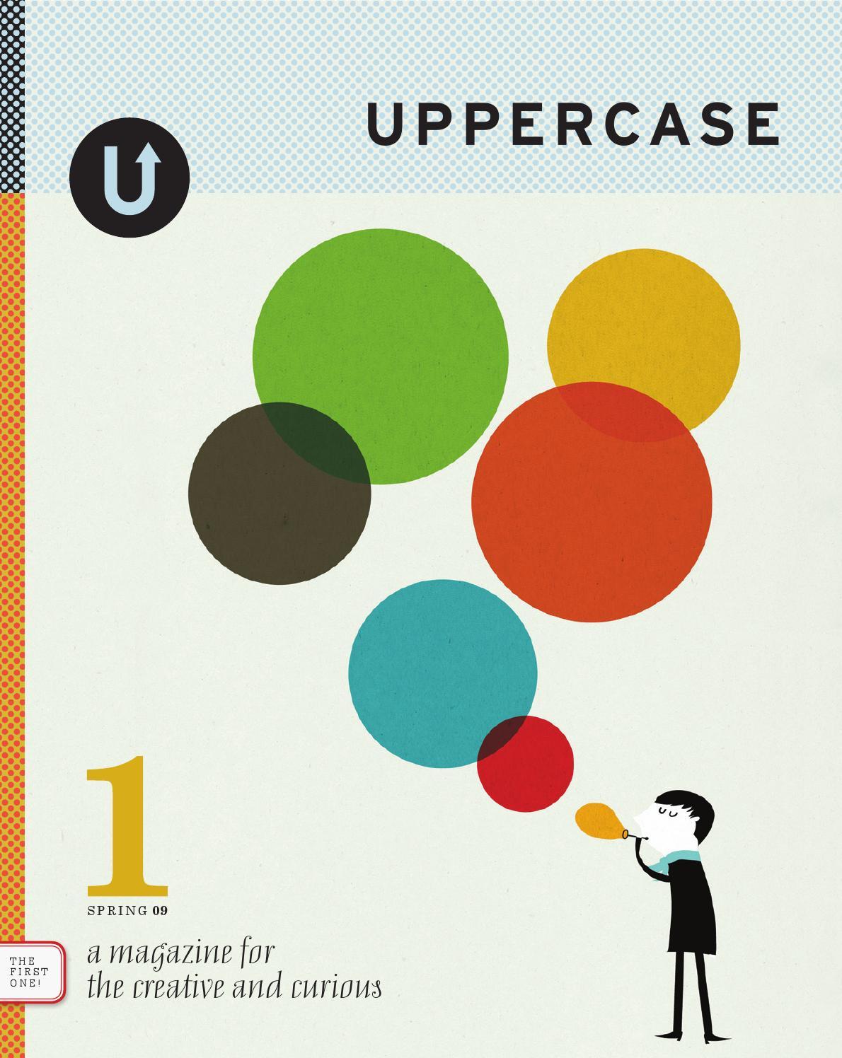 UPPERCASE magazine: issue 1 by Janine Vangool - issuu  UPPERCASE magaz...