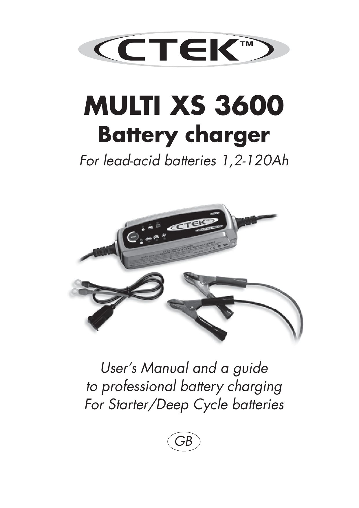 ctek xs3600 charger user manual by talk audio online. Black Bedroom Furniture Sets. Home Design Ideas