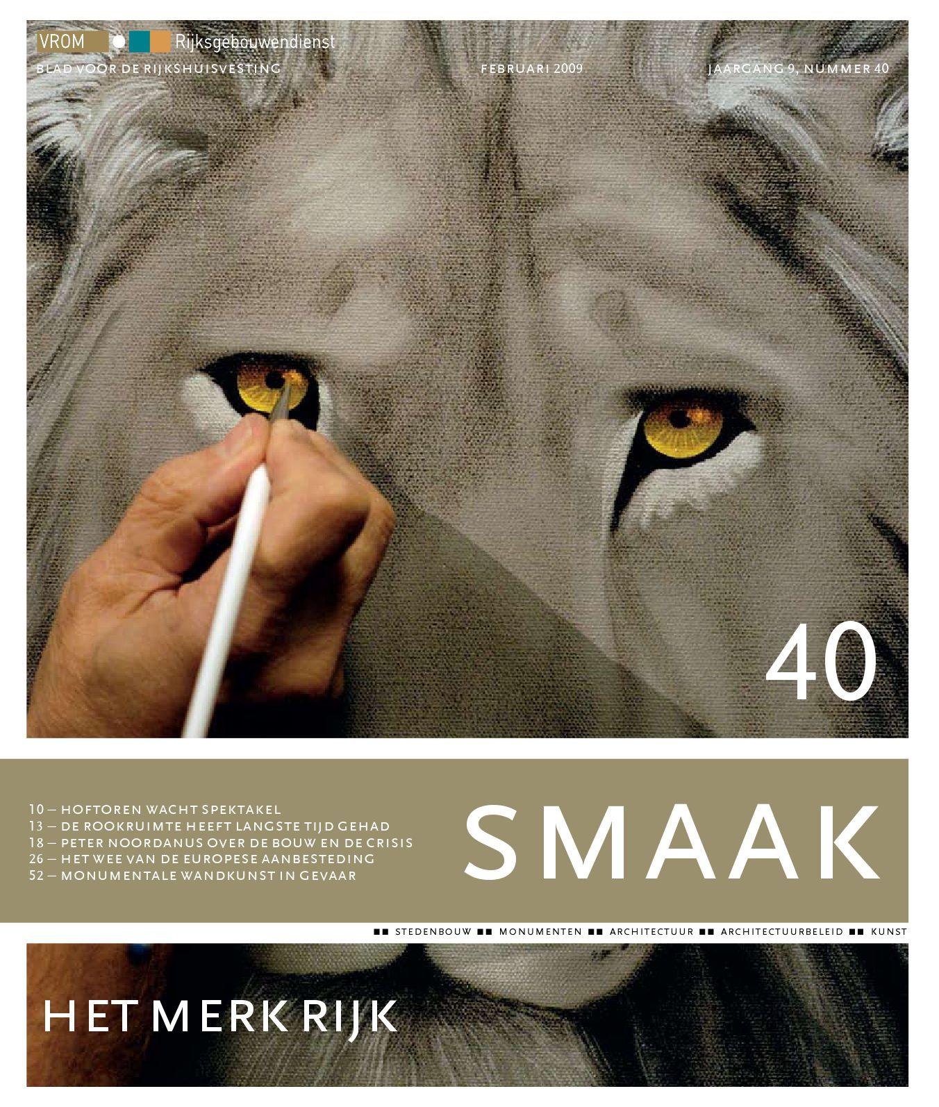 Smaak 40 by rijksvastgoedbedrijf   issuu