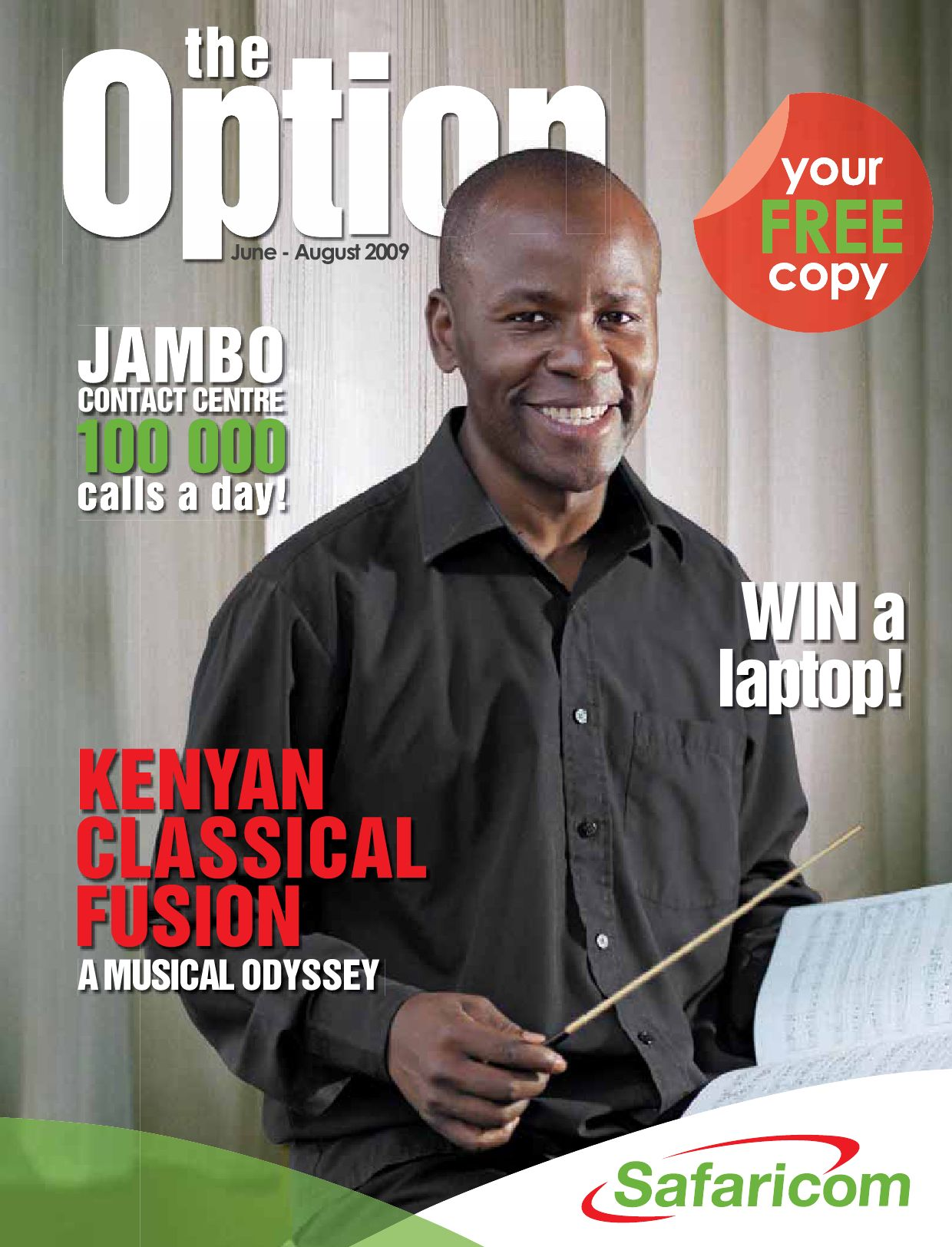 Lydiah Dola - Contributing Editor - Safaricom option