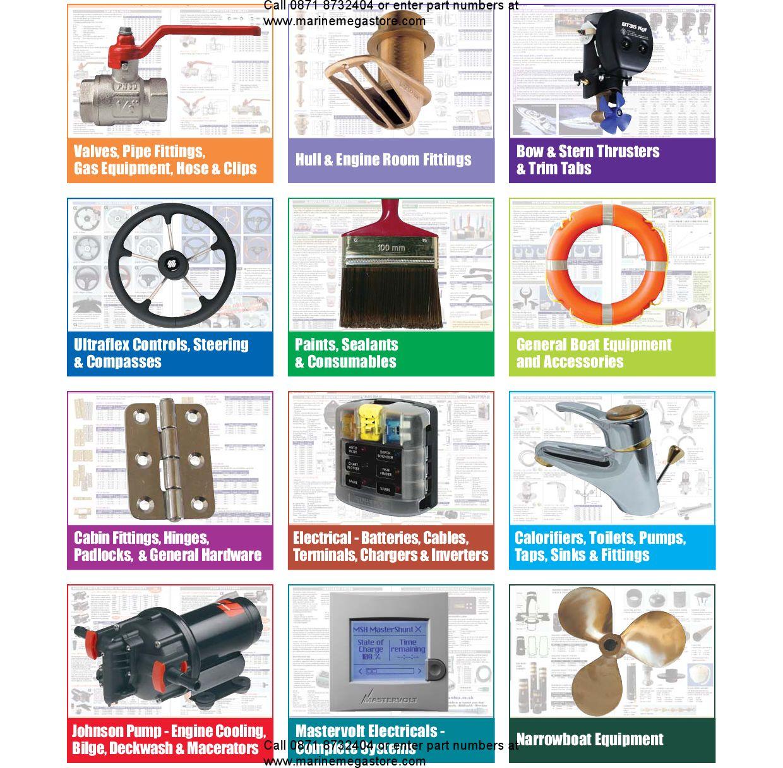 Steering Plumbing Electrical Gas And General Marine