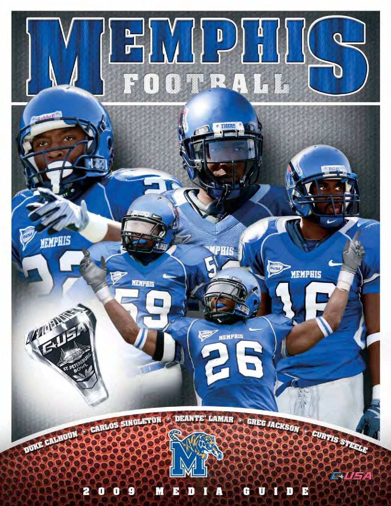 2009 Memphis Football Media Guide by University of Memphis
