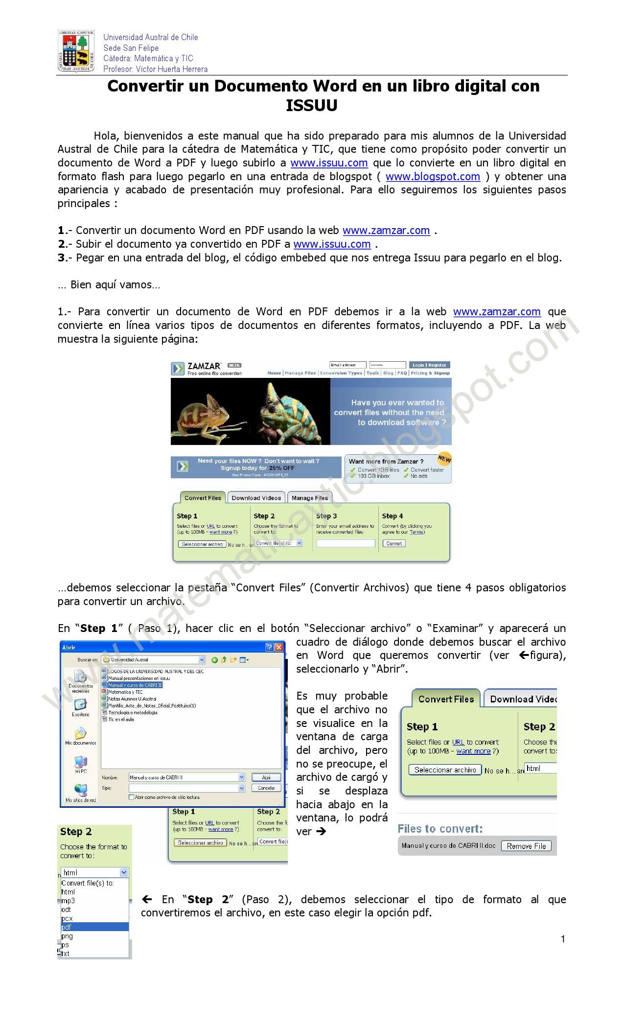 convertir un pdf en word