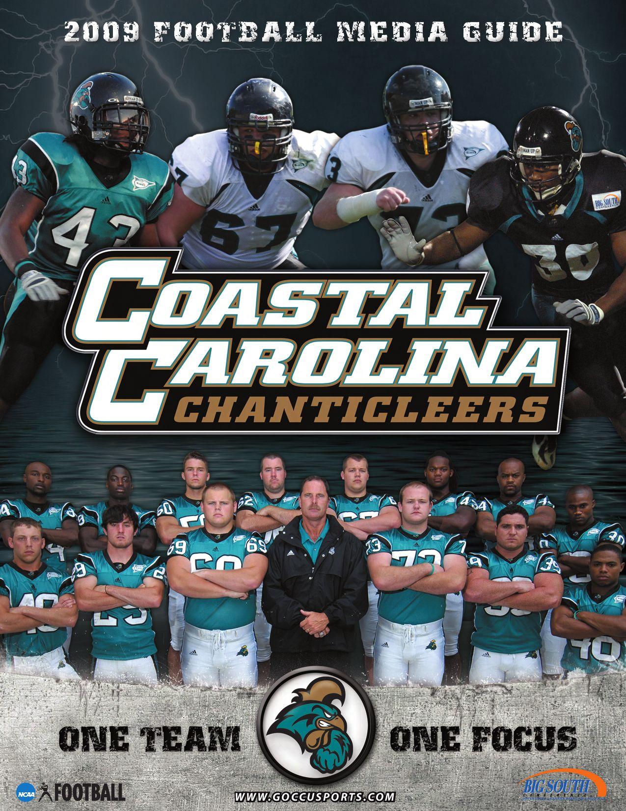 2009 Coastal Carolina University Football Media Guide By