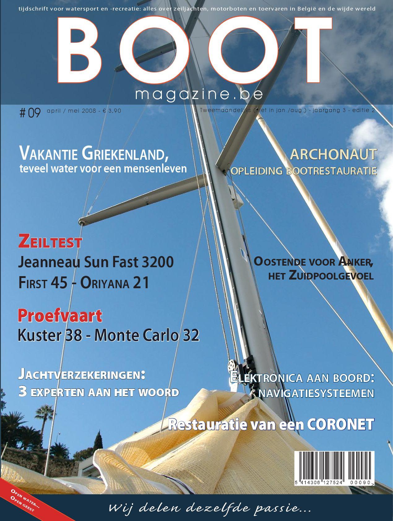 Bootmagazine # 06   september oktober 2007 by leo van dorsselaer ...