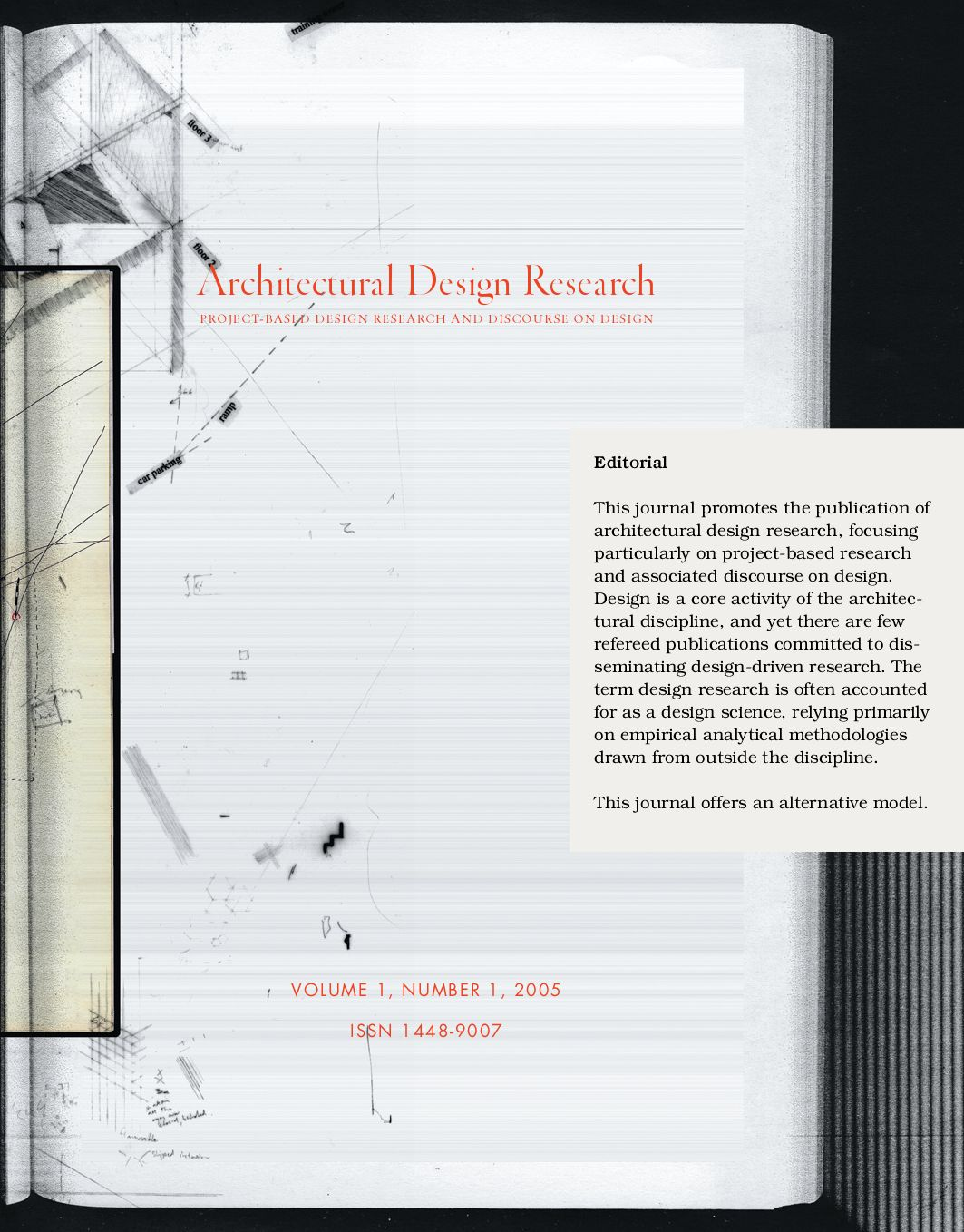 architectural design research vol 1 no 1 by brent