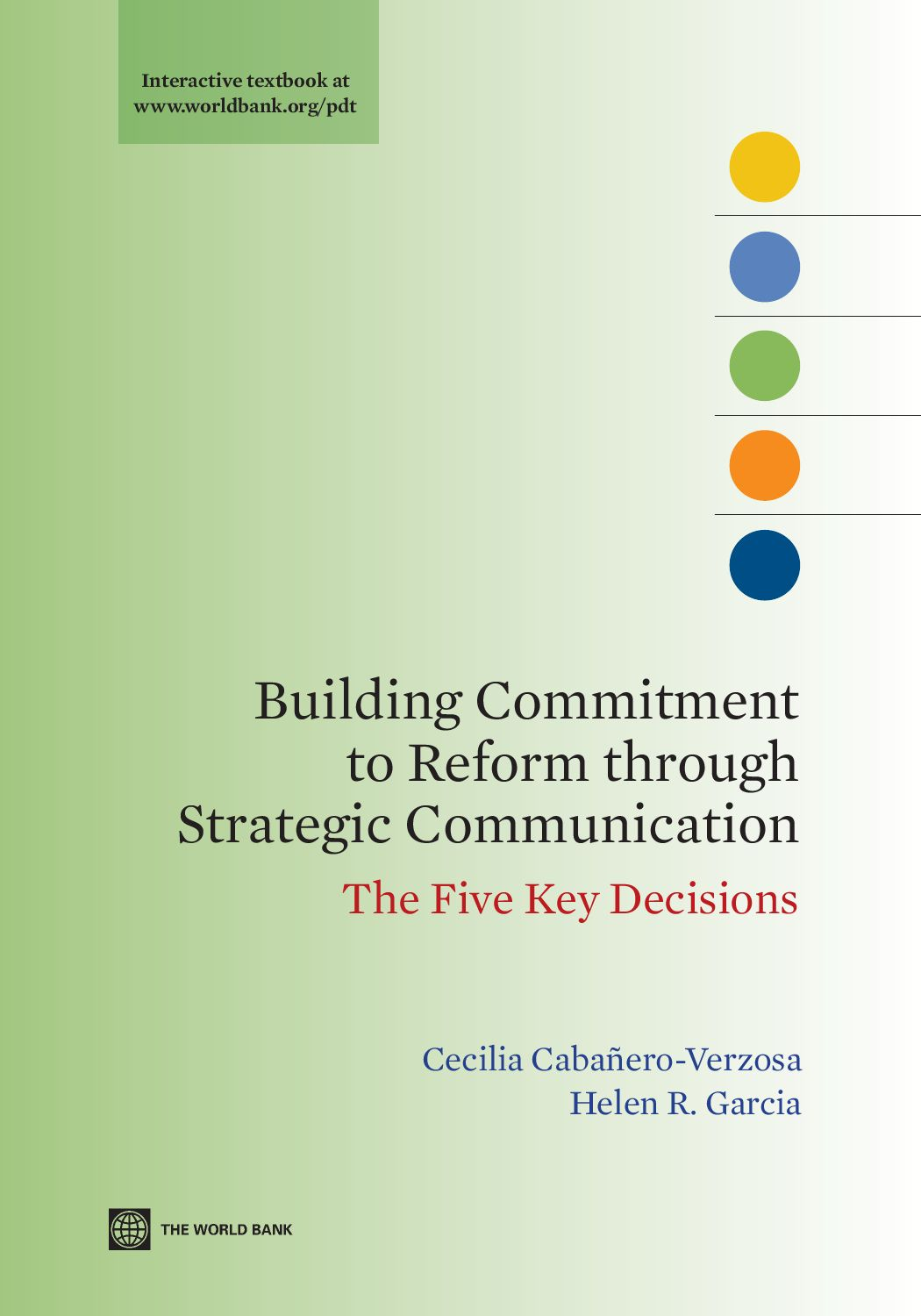 Building Commitment to Reform through Strategic ...
